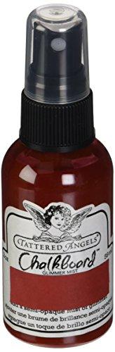 TATTERED ANGELS Glimmer Mist Chalkboard 2 Ounce-Ruby Slipper (Angel Gun Boards)
