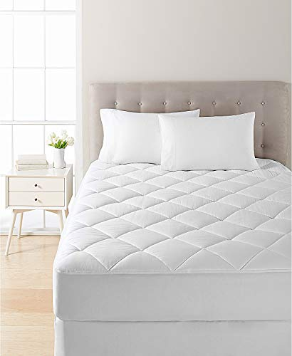 Dream Science by Martha Stewart Collection Dream Science Waterproof King Mattress Pad by Martha Stewart Collection, Created for Macy's - White