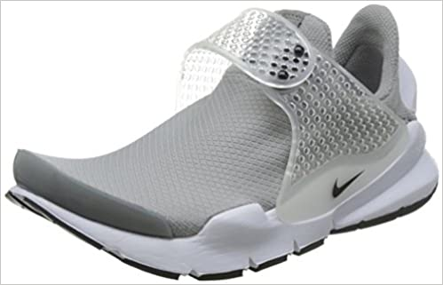NIKE Womens Sock Dart Running Trainers 848475 Sneakers Shoes (US 9 Medium Grey Black White 001)