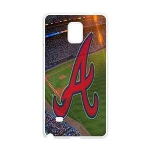 Tyquin Atlanta Braves Credited Samsung Galaxy Note 4 Case, [White]