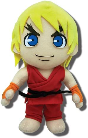 8 Great Eastern Entertainment Street Fighter V Ryu Collectible Plush Toy