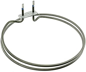 2500 Watt Fitment List A SPARES2GO Circular Fan Element for Creda Oven//Cooker