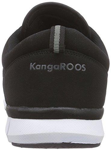 KangaROOS K-blue Run 8005 C - Zapatillas Unisex adulto Negro - negro (negro 500)