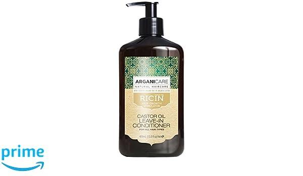 arganicare cuidado Evolution sin aclarado con el aceite de ricino. 400 ml: Amazon.es: Belleza