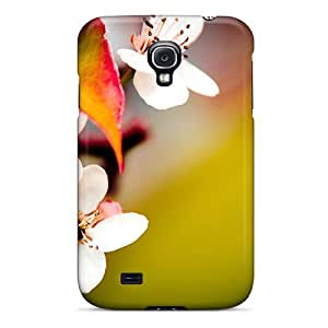 Fashion Tpu Case For Galaxy S4- Mother S Day Beautiful Flower Blossoms Defender Case Cover