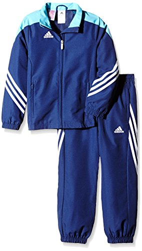 Training Presentation Suit - adidas Boys Tracksuit Woven Sereno14 Boys Presentation Football Training Suit New Navy Blue 7-15 Years F49681 (152cm (Large Youth))