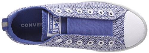 Unisex Pure Ctas nightfall Platinum Blue 020 Converse pure Ox Niños Zapatillas Platinum Azul Hyperslip n6g4YS