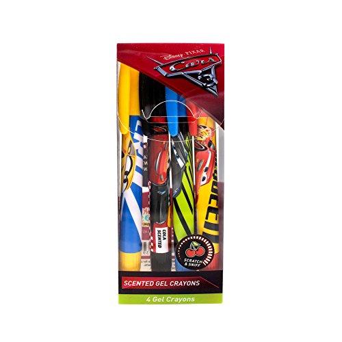 Disney Cars Sketch & Sniff Gel Crayons 4-Pack
