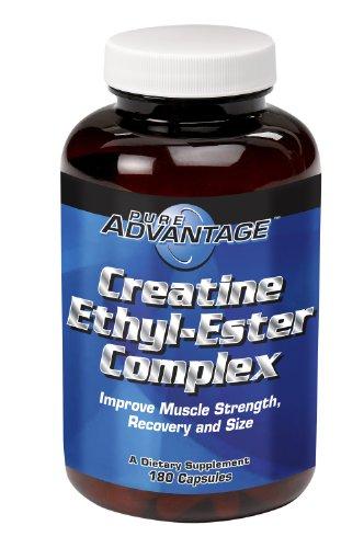 Ethyl Ester 180 Capsules - Pure Advantage Creatine Ethyl Ester Complex Capsules, 180 Count