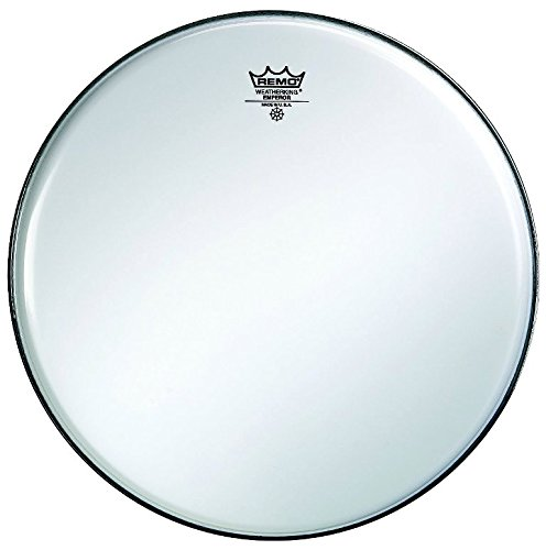 Remo BA0214-00 14-Inch Ambassador Drum Head, Smooth White
