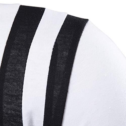 Fit Stretch Casual Manches Blanc Heetey Shirt ChemisierMens Mens Casual Chemises Courtes Respirant Tee Printemps À Blouse Sportshirt Summer Slim Patchwork thrxosQCBd