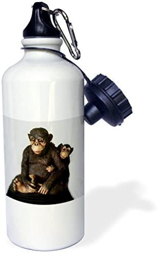 liandun Mama Singe Sport bouteille d'eau, 21oz, blanc