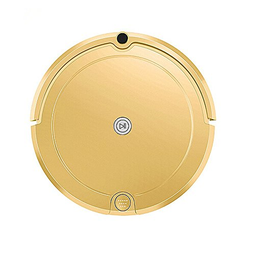 HUIBOT 80S Robot Vacuum and Mop for Pets Hair with Water Tank for Hardwood Floor Tile and Thin Carpet Rug (80S, GOLD)