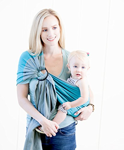 Moby Ring Sling Ocean Twist product image