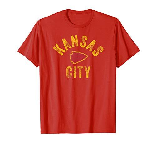 KC Kansas City Red Arrowhead 2020 Champ Locals Pro Fan Gear T-Shirt