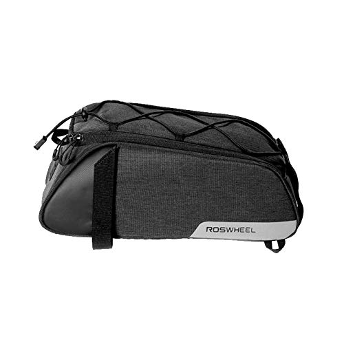 Sala-Fnt - ROSWHEEL New 141465 Mountain Road Bicycle Cycling Rear Seat Rack Trunk Bag