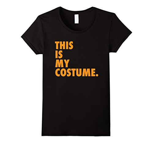 Womens Original This Is My Costume Shirt | Funny Halloween Shirt XL - Original This Is