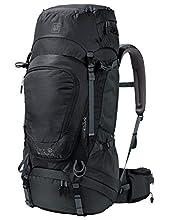 Jack Wolfskin Highland Trail XT Sac à Dos Trekking, Mochila Unisex Adulto, Negro (phantom), One Size