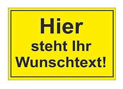Personalizada Cartel 20 x 30 cm cartel con el texto Nota ...