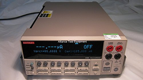 KEITHLEY 2400 SOURCE METER, VOLTAGE/CURRENT, 200V, 1A, 20W by Keithley