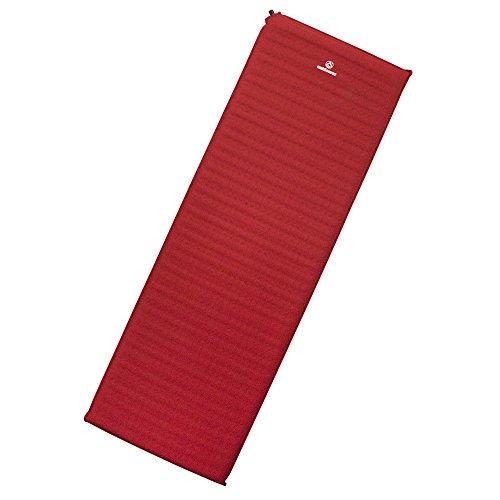 outdoorer Trek Bed Zelfopblaasbare isomat, 3 in het rood, camping- en trekking-isomat, zelfopblazend, 5 cm hoog, licht…