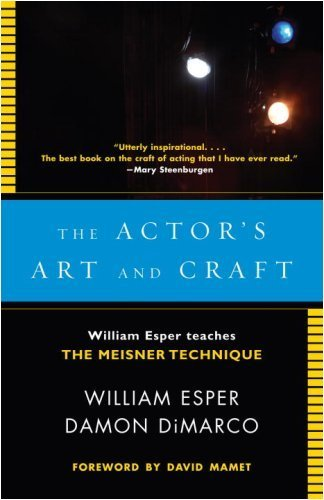 The Actor's Art and Craft by Esper, William, DiMarco, Damon. (Anchor,2008) [Paperback]
