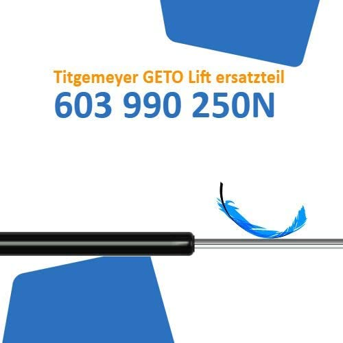 Ersatz f/ür Titgemeyer GETO Lift 603 990 250N
