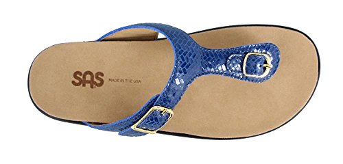 SAS Women?s, Sanibel Thong Sandal Weave Sapphire