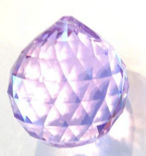 (Swarovski crystal Rosaline Crystal Ball 30mm, Feng Shui, Ball Prism)