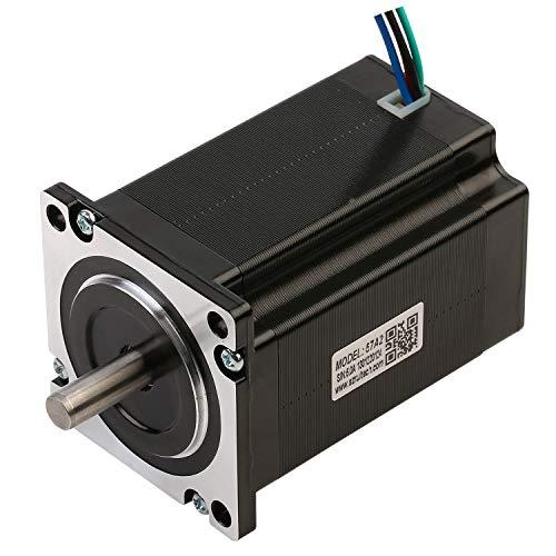 RTELLIGENT Nema 23 Stepper Motor 2.2Nm 4.0A 4-Lead 57x80mm 8mm Shaft 1.8Deg Digital Step Stepping Motor for 3D Printer/Laser/CNC Machine