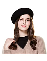 Wool French Beret Hats Women Ladies