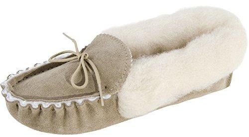 Lined Slippers Lambland Sheepskin Ladies Moccasin qw0q1x4z