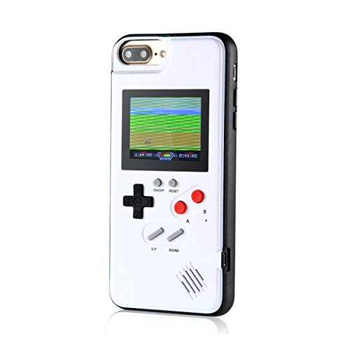 (Gameboy Case for IPhone, Aolvo Retro 3D Protective Cover Case with 36 Small Game, Full Color Display, Shockproof Video Game Case for IPhone X/XS/MAX/XR, IPhone8/8 Plus, IPhone 7/7 Plus, IPhone 6/6Plus )