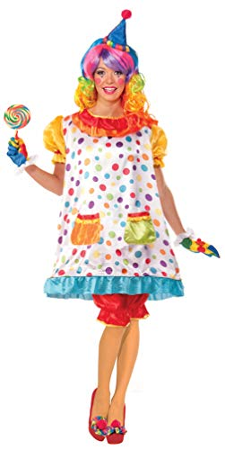 Disfraces De Payaso Para Halloween (Forum Novelties Women's Wiggles The Clown Costume, Multi,)