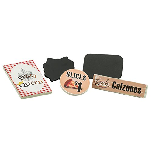 The Queen's Treasures 5 Piece Pizza Queen Shop Sign Set, Accessory For Interchangeable 18