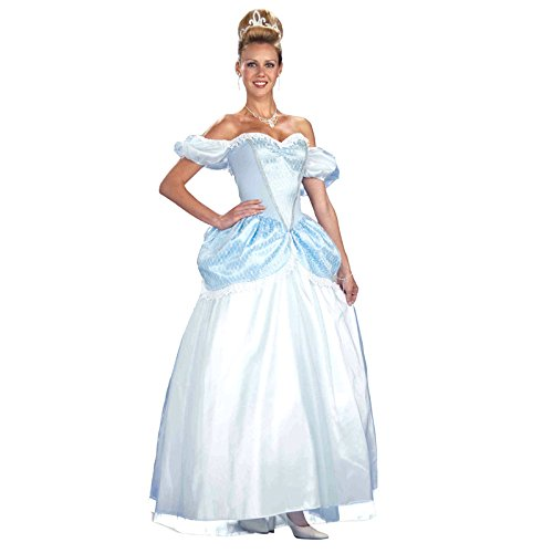 Forum Fairy Tails Fashions Storybook Princess Costume, Blue, (Fairy Princess Costumes Adult)