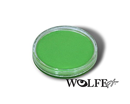 Wolfe Face Paint Light Green 30g Professional Body Paint Hydrocolor Make Up 057 - Hydrocolor Makeup