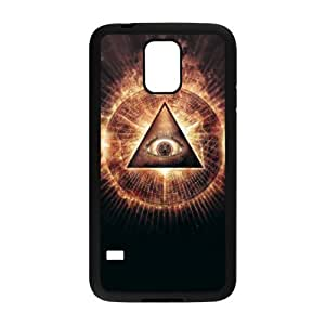 Personalized Vintage Skin Durable Rubber Material Samsung Galaxy s5 Case - Eye of Providence