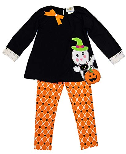 Rare Editions Girls' Two Piece Halloween Outfit F731837,