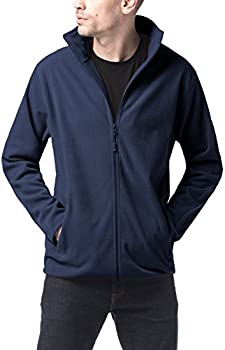 Lapasa Mens Full Zip Polar Fleece Jacket