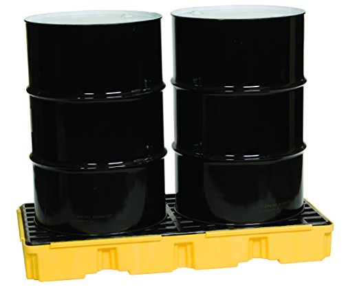 National-Spencer 782 Spill Containment Platform for 2 gal-55 gal Drums by National-Spencer, Inc.