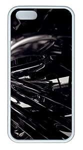3D Black 3 TPU White custom made iphone 5 case for Apple iPhone 5/5S wangjiang maoyi