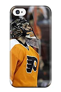 ChristopherMashanHenderson Iphone 4/4s Hybrid Tpu Case Cover Silicon Bumper Philadelphia Flyers (65) by lolosakes