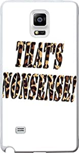 Note 4 Case Quote, Samsung Galaxy Note 4 IV Case That Is Nonsense Leopard Print