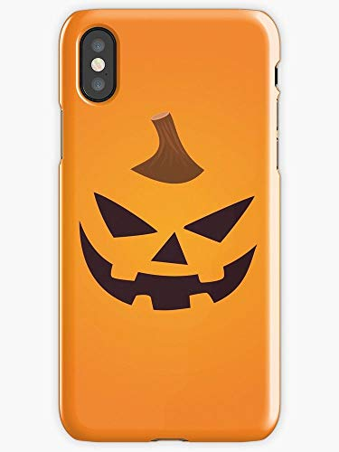 Turbo Delivery LLC -Halloween Scary Costume October 31st Nightmares Horror - Hard Rubber Phone for Apple iPhone Xs MAX(2018 Model). Made and Shipped from The USA Includes 1 Screen Protector