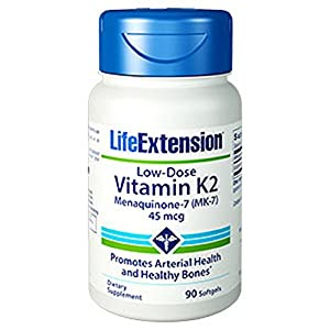 Life Extension Low Dose Vitamin K2, 90 softgels