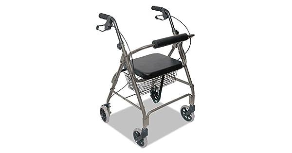 Amazon.com: DMI Ultra Ligero Andador, titanio, aluminio ...