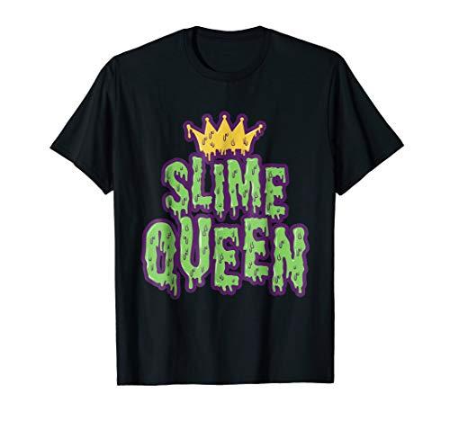 Slime Queen Balls Accessories Crown Trending Cool T Shirt