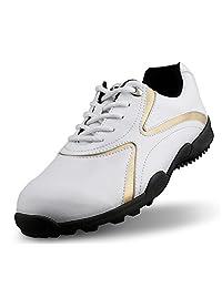 DANCHEL Men's Waterproof Golf Shoes PGM