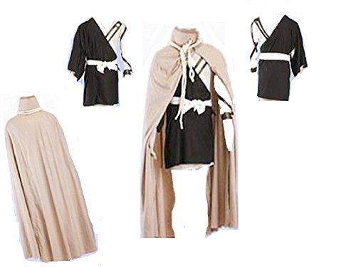 Kurosaki Ichigo Bankai Costume (Bleach cosplay costume Kurosaki Ichigo Bankai 3rd Ver cosplay costume)